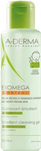 ADERMA EXOMEGA CONTROL  gel lavant 2 en 1