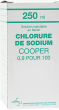 Chlorure de sodium cooper 0,9%, solution injectable
